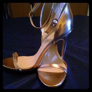 Rose gold Boohoo Heels